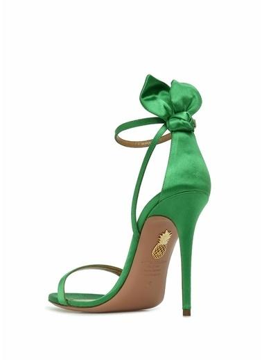 Aquazzura Sandalet Yeşil
